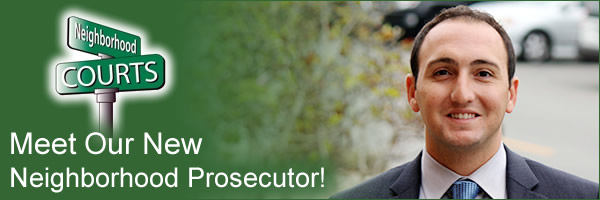 Meet our new Neighborhood Prosecutor Marc Massarweh!
