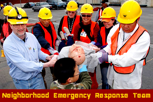 FREE Neighborhood Emergency Response Team (NERT) train