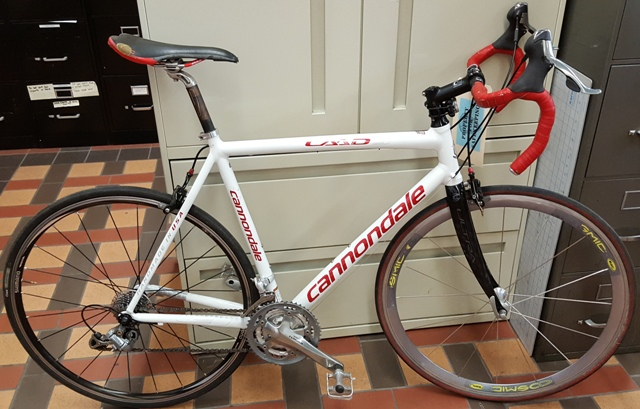 recovered bicycle