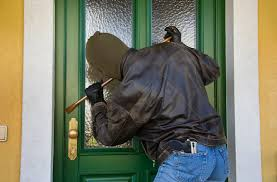 photo of a burglary
