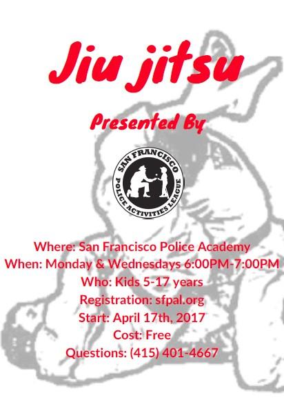 free jiu jitsu lessons flier