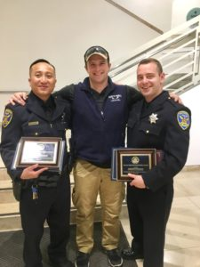 the EMS First responders award pics